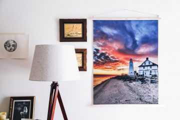 Large Photo Print Wall Art Display DIY Frame