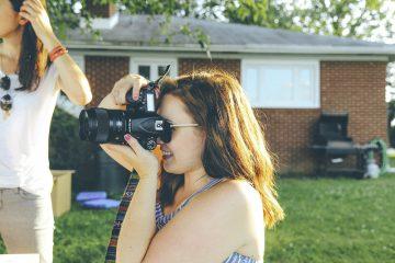 Outdoor Photographer In Hot Weather