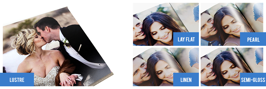Difference between professional Photo Album & Photo Book paper types