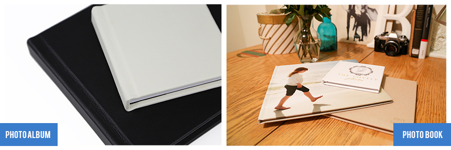 Photo Albums and Photo Books - Size Options available at Nations Photo Lab