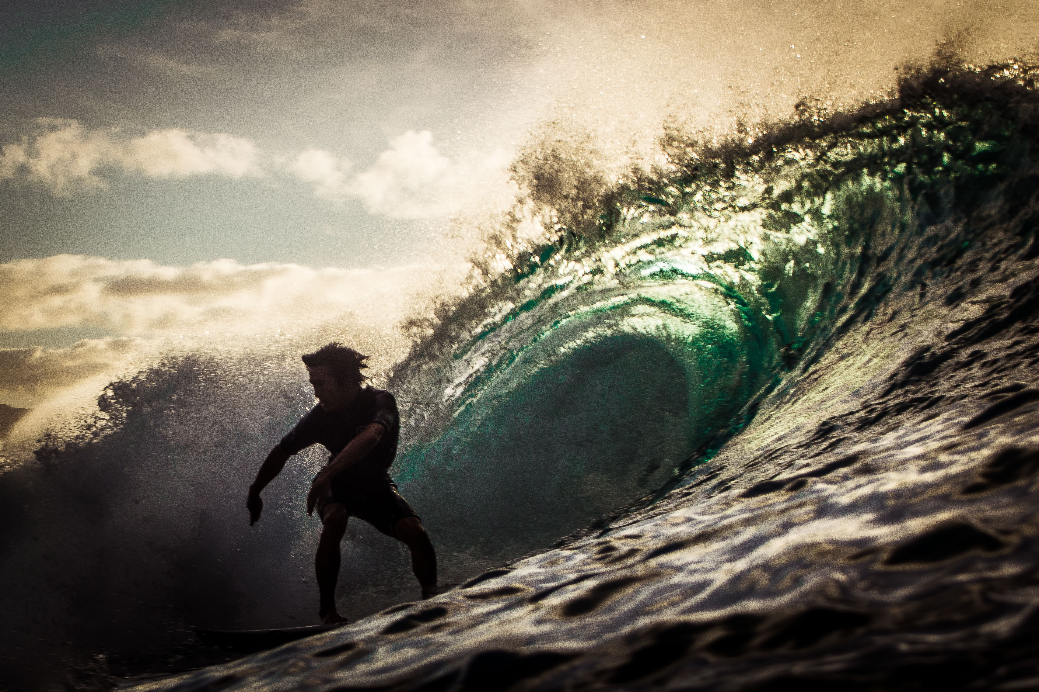 North Shore Hawaii Surfer - Photo by Zach Stadler