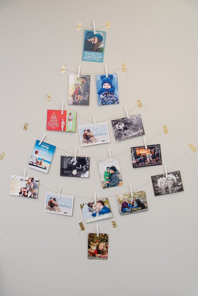 Holiday Card Christmas Tree