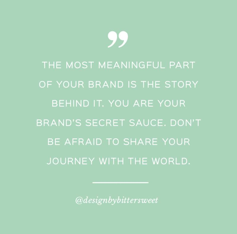 Quote about branding