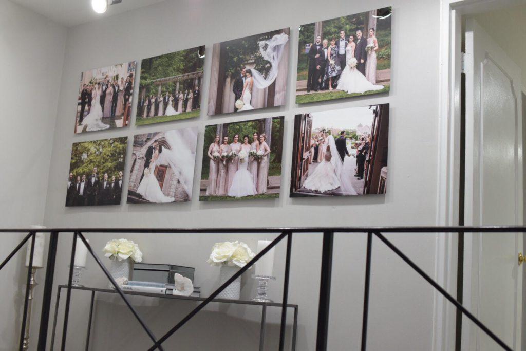 Metal Print gallery wall