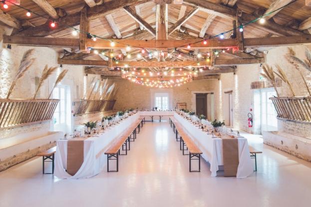 Minimalistic wedding venue