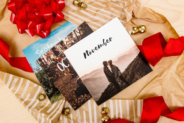 Monthly softcover photo books