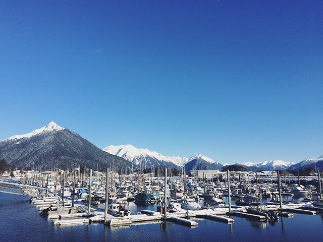 sitka alaska in winter