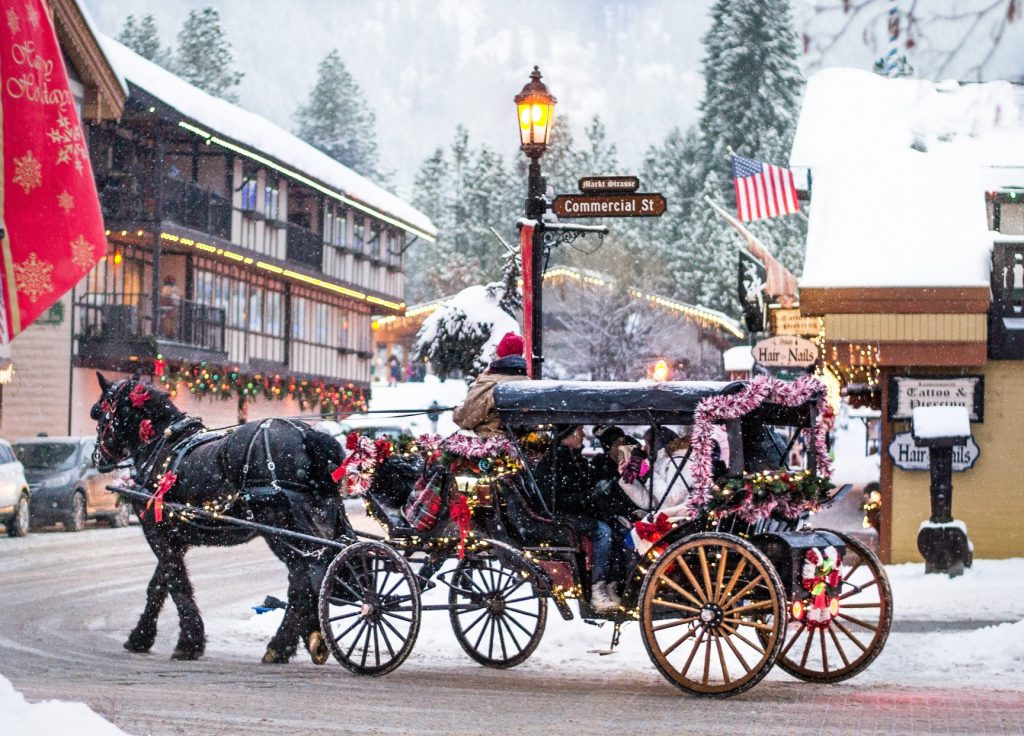 leavenworth, wa christmas time