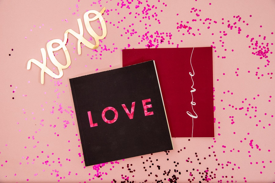 love themed photo book