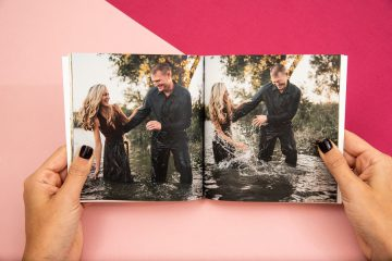 couples in photo book