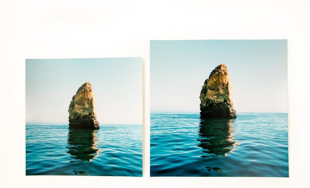 "16x16"" print and 20x20"" photo print"