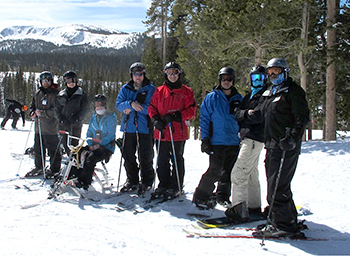 Group Ski Shot