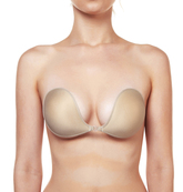 L398 nude feather lite push up plunge 1
