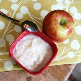 Apple a day recipe baby food for 4 6 months from nurturebaby an image of apple a day forumfinder Image collections