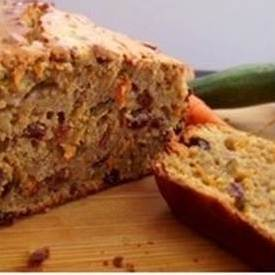 An image of Carrot & Zucchini Quinoa Bread