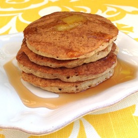 An image of Whole Wheat Banana Pankakes