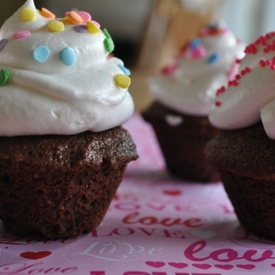 An image of Whole Wheat Chocolate Cupcakes