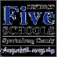 District Five Schools of Spartanburg County logo