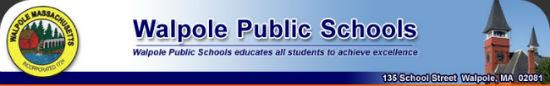 Walpole Public Schools logo