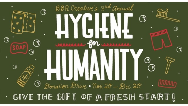 BBR launches 3rd annual 'Hygiene for Humanity' donation drive