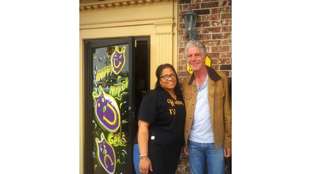 Anthony Bourdain visits Lafayette this week for