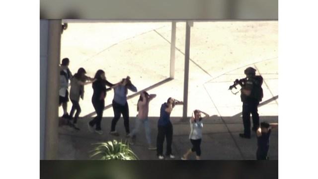 Florida school shooting kills 17, suspect taken into custody