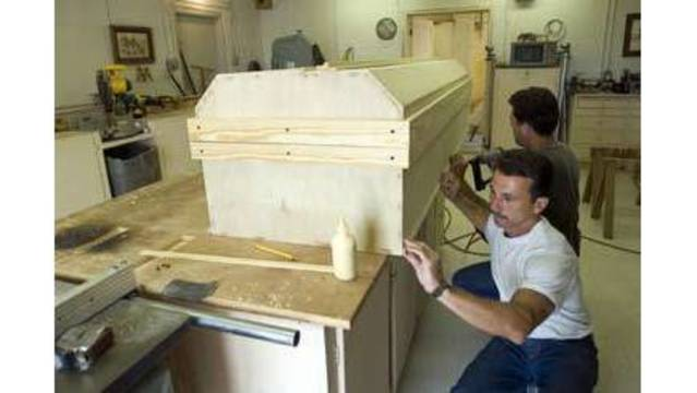 Billy Graham's casket was hand made by inmates at Angola Penitentiary