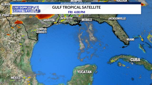 Gulf of Mexico Satellite