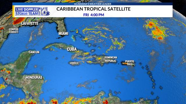 Caribbean Satellite