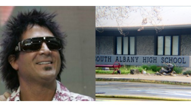 Journey drummer Deen Castronovo donates $10k to South Albany High School after devastating fire damages band equipment (AP_KOIN 6 News)_145109