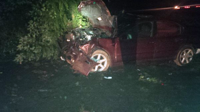 WSP: Driver speeding at 140 mph hits car on I-5