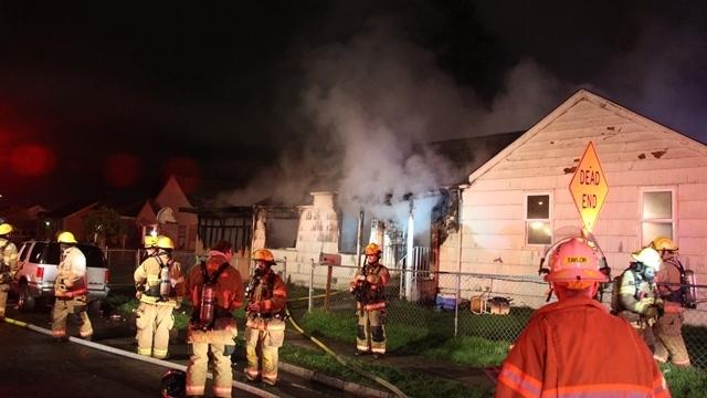Fire destroys Longview home