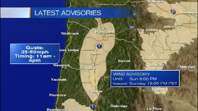Storm systems hit Cascades, windy in the valley