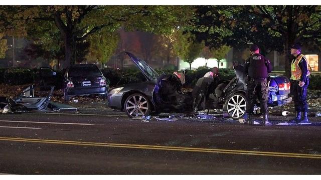 Police: Drunk 18-year-old t-boned car, injured man