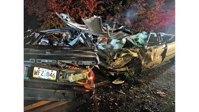 Car slides into corner, 3 killed north of Molalla