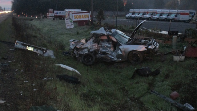 Subaru driver collides with pickups, dies on Hwy 34