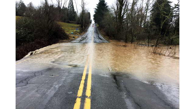 Wet weather closes Multnomah County roads
