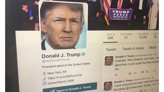 Departing Twitter employee deactivates Trump's account
