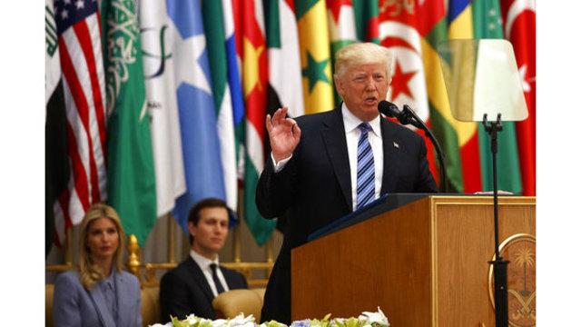 Trump: Terror fight 'battle between good and evil'