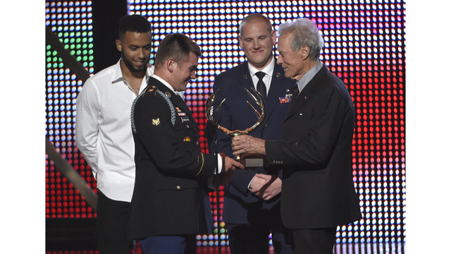 Eastwood casts real-life heroes in '15:17 to Paris'