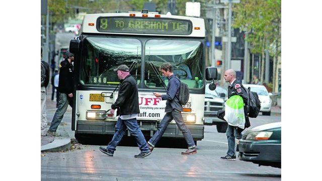 Downtown Portland pedestrians good for business
