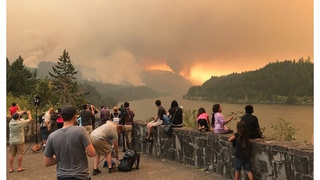 Teen Sentenced For Starting Eagle Creek Fire