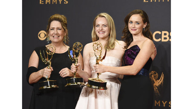 'Veep' and 'The Handmaid's Tale' win top Emmys