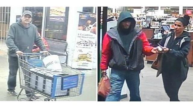 Oregon City Police need help identifying fraud suspects