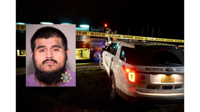Suspected Greyhound Bus stabber faces 34 charges