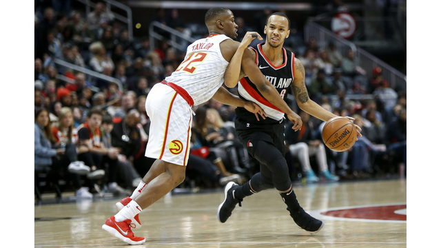 Blazers fall to Hawks as Lillard misses another game
