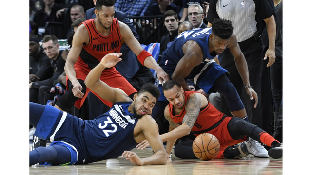 Butler scores 24 points, Timberwolves beat Blazers