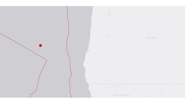 4.9 earthquake hits off the Southern Oregon coast