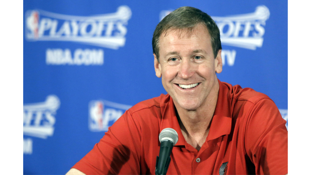 Blazers Stotts named NBA Coach of the Month