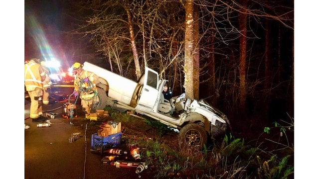 Man LifeFlighted after being extricated in Cornelius crash